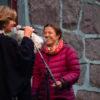 Prisvinner Pippip Ferner m Vestregionens leder Lisbeth Hammer Krog