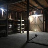 2. etasje på låven på Gilhus gård