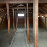 Loftet på stabburet